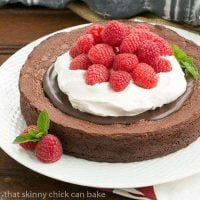 Chocolate Earthquake Cake | That Skinny Chick Can Bake