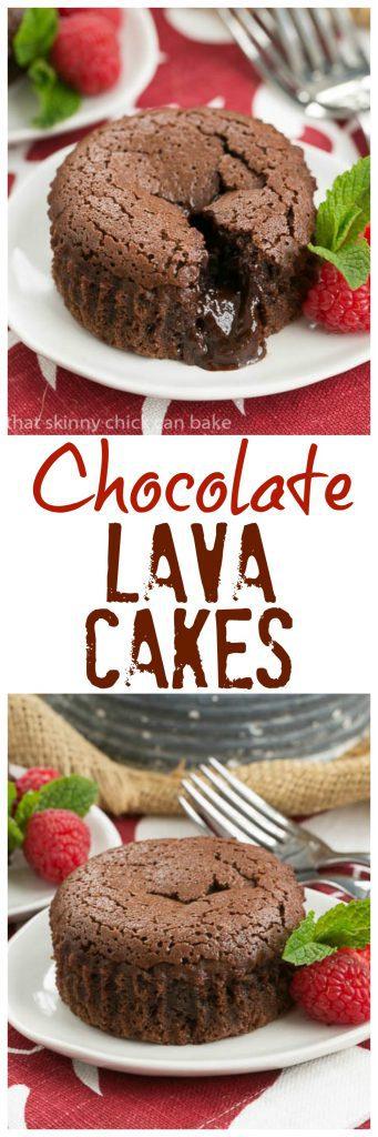 Chocolate Lava Cakes | An exquisite molten lava cake recipe!