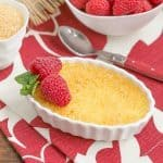 Classic Creme Brulee   a fabulous vanilla custard topped with a thin layer of brittle, caramelized sugar