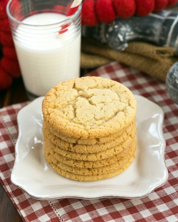 Butterscotch Cookies | That Skinny Chick Can Bake