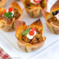 Mini Mexican Tarts | Crispy Shells filled with spiced sausage and cheese!