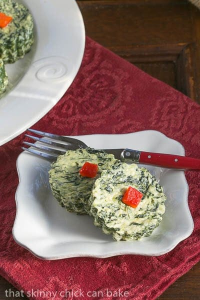 Mini Spinach Souffles