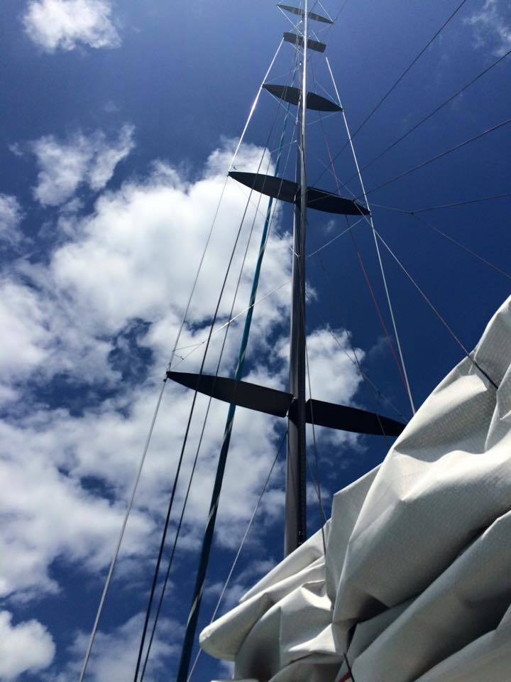 Sailing on the America's Cup Yacht