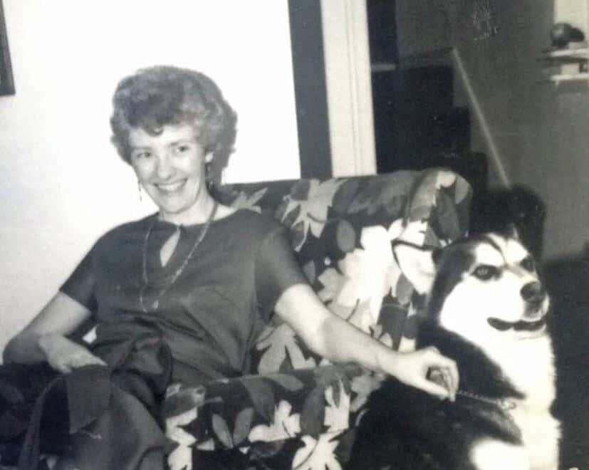 Mom and Rufus