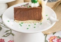 Irish Chocolate Mousse Cake | Perfect St. Patrick's Day dessert