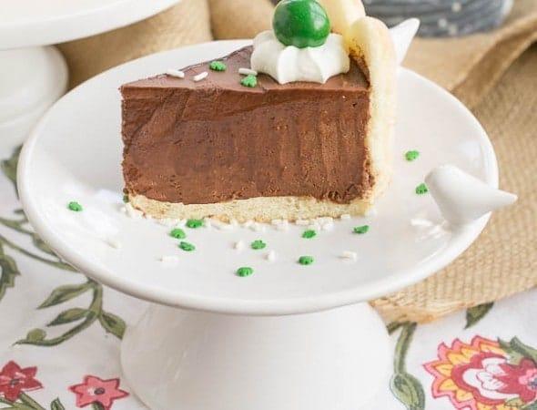 Irish Chocolate Mousse Cake | Perfect St. Patrick's Day dessert