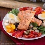Salmon Salad Niçoise | Heart healthy, gourmet meal!