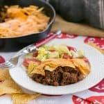 Skillet Taco Pie #WeekdaySupper #McSkilletSauce