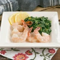 Vanilla Butter Braised Shrimp | Tender, buttery and succulent