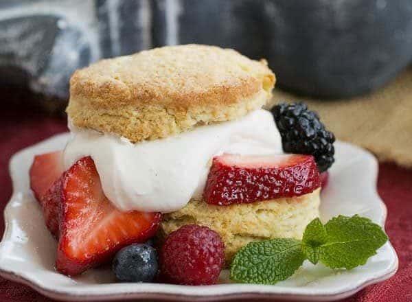 Berry Shortcakes | Sweet tender
