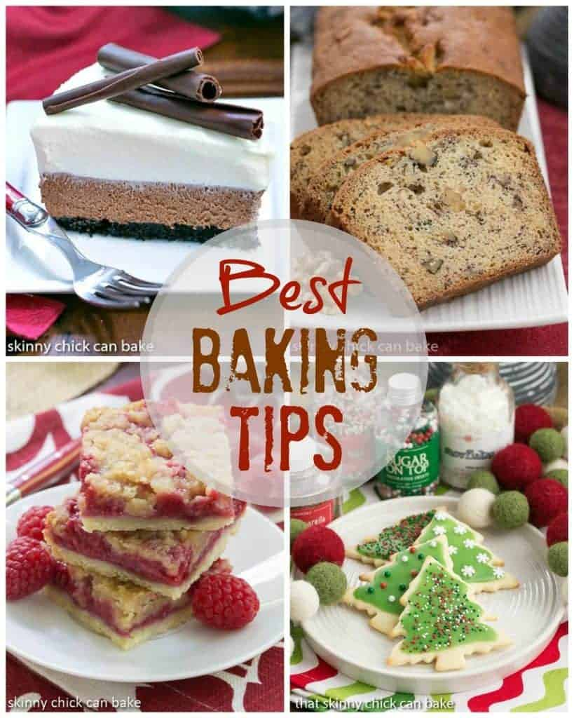 Best baking tips collage