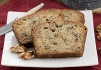 Classic Banana Walnut Bread | Moist, tender and delectable