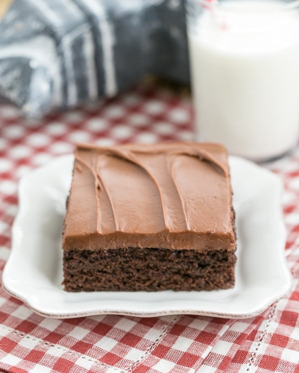Cocoa Fudge Cake {That Skinny Chick Can Bake} - 19+ of the BEST Summer Potluck Recipes Roundup