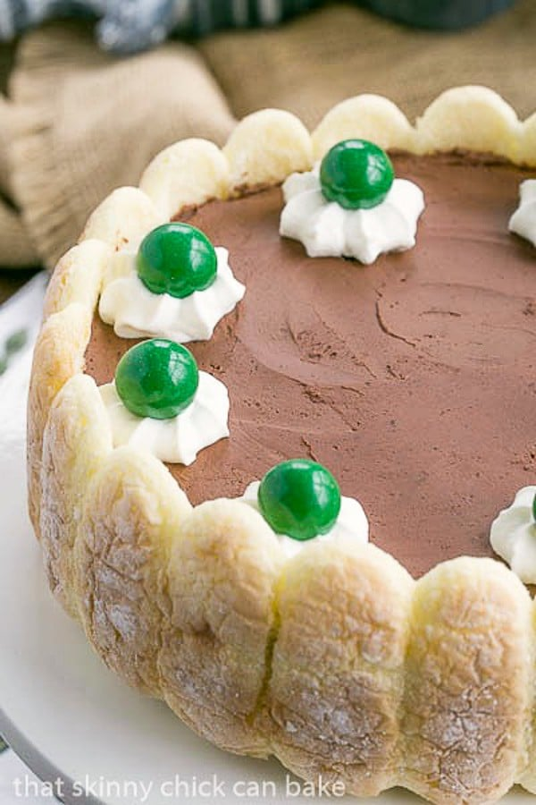 Irish chocolate mousse cake st patrick 39 s day dessert - Olive garden bailey s crossroads ...