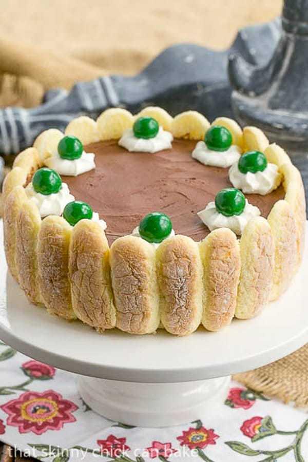 Irish Chocolate Mousse Cake St Patrick S Day Dessert