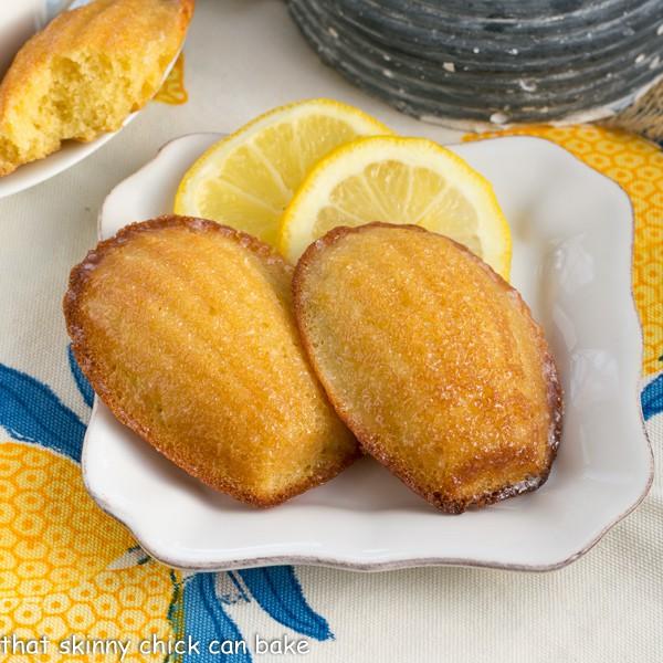Lemon Madeleines   A perfect, citrusy tea cake from Dorie Greenspan