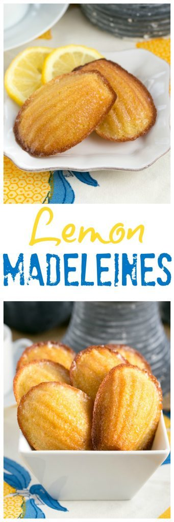Lemon Madeleines | A perfect, citrusy tea cake from Dorie Greenspan