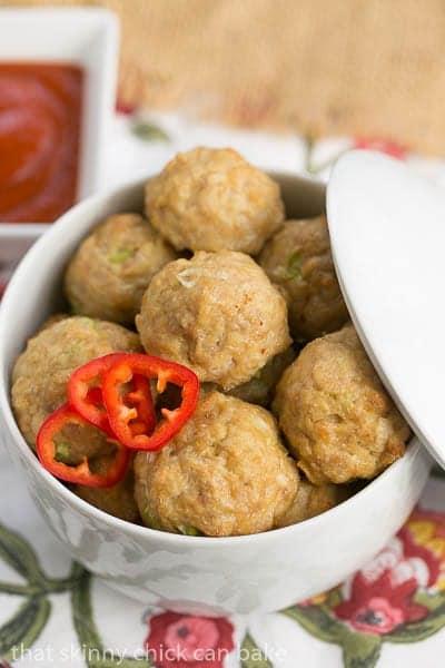Sesame Ginger Meatballs