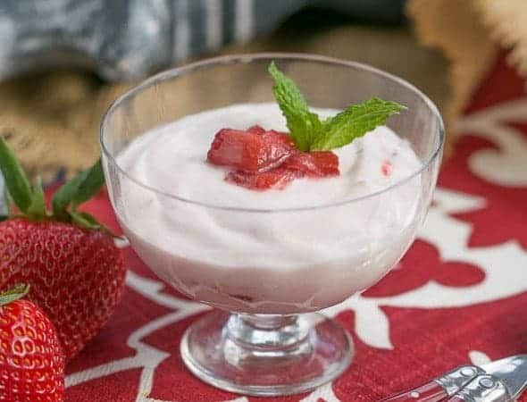 Strawberry Fool | A simple and elegant dessert