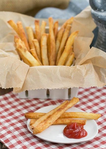 Thin Crispy French Fries | Recipe for perfect French Fries