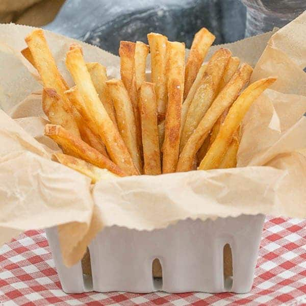 Thin Crispy French Fries - As good or better than McDonald's!!