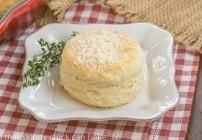 Buttermilk Goat Cheese Biscuits #TwelveLoaves