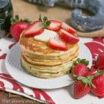 Classic Buttermilk Pancakes   Trumps a box mix every time