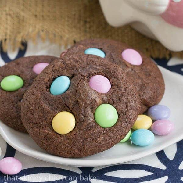 Easter Candy Brownie Cookies