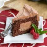 Tunnel of Mousse Cake