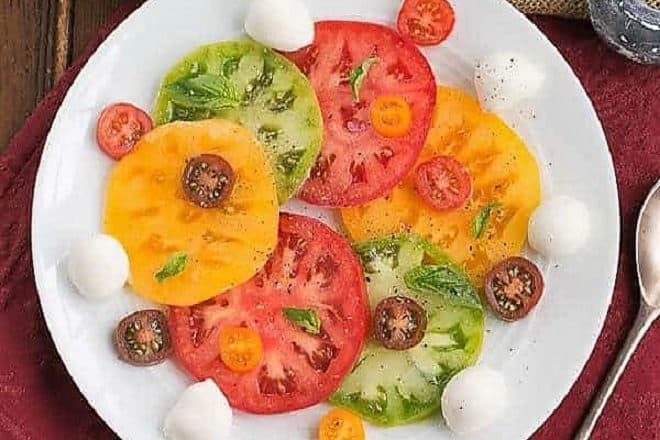 Salade de Tomates et Fromage featured image