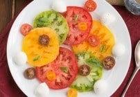Salade de Tomates et Fromage #ProgressiveEats