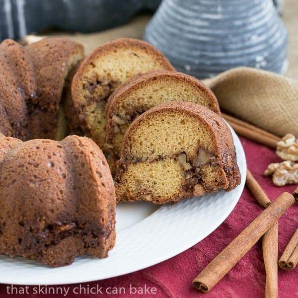 Sour Cream Streusel Coffee Cake #BrunchWeek #Giveaway