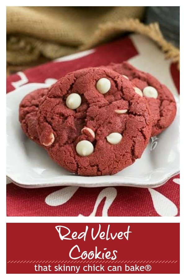 red velvet cookies pin collage