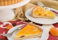 Apricot Glazed Cheesecake Tart #FrenchFridayswithDorie