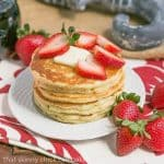 Classic Buttermilk Pancakes #BrunchWeek #Giveaway