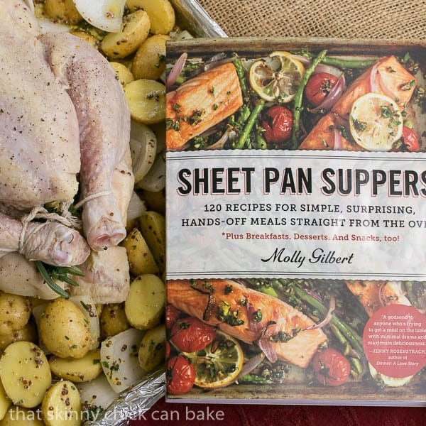Classic Roast Chicken with Mustard Potatoes cookbook