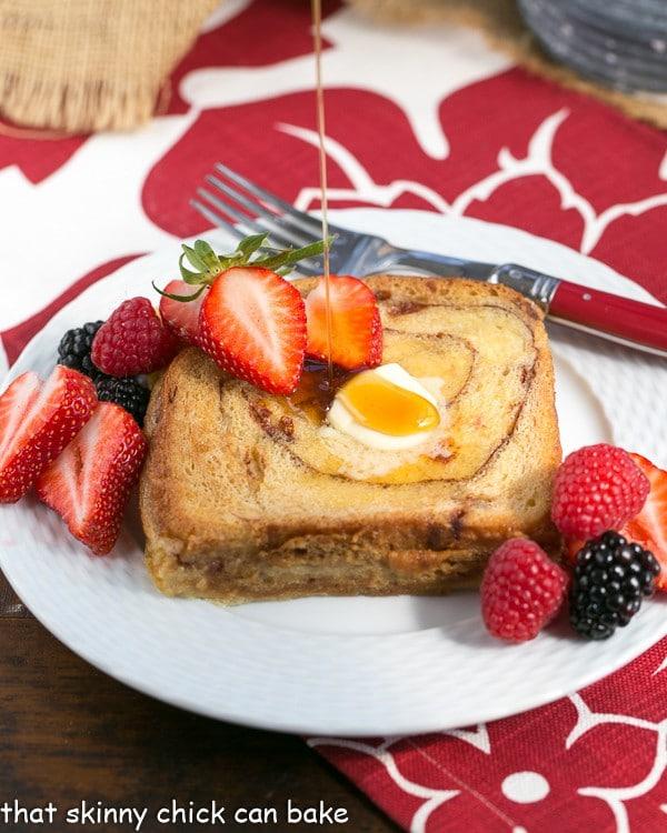 Overnight Cinnamon Bread French Toast