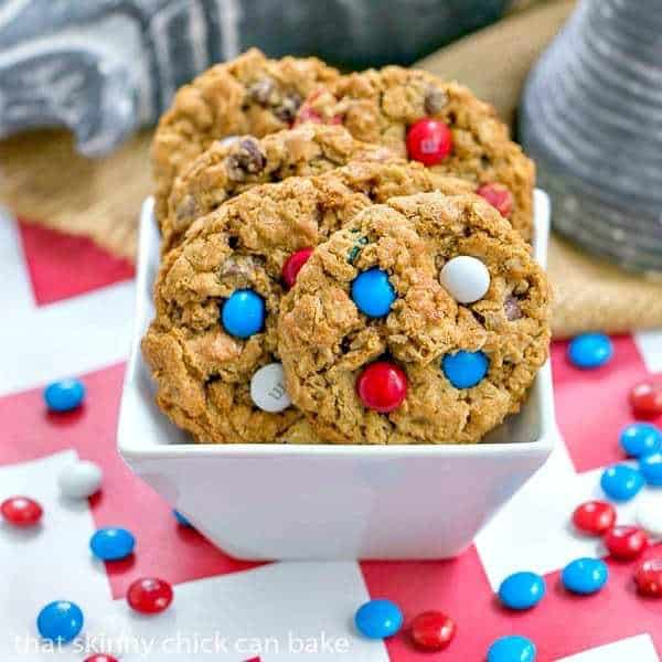 Patriotic Monster Cookies