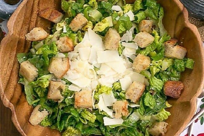 Perfect Caesar Salad - Make your favorite restaurant salad at home!