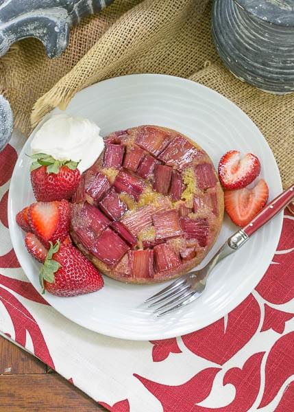 Cooked Rhubarb Cake Recipes