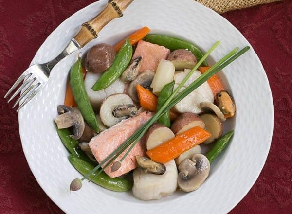 Seafood Pot au Feu | A light, seafood version of the classic French pot au feu