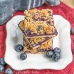 Blueberry Streusel Bars