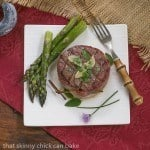 Grilled Tenderloin with Garlic Herb Butter #SundaySupper #GrillTalk