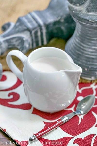 Homemade Marshmallow Cream Sauce