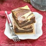 Ricotta Cheesecake Brownies #SundaySupper