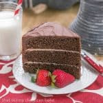 Triple Layer Chocolate Cake with Vanilla Buttercream #Giveaway