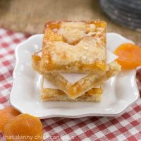 Apricot Bars | Scrumptious layered bars with coconut, almonds and apricot preserves