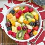 Honey Lime Fruit Salad