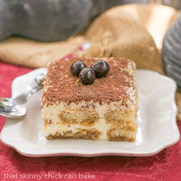 Tiramisu | A twist on the classic tiramisu with Kahlua and rum