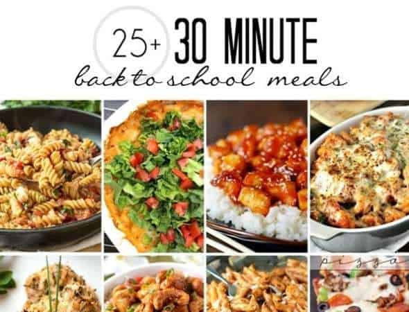30-Minute Meal Round Up